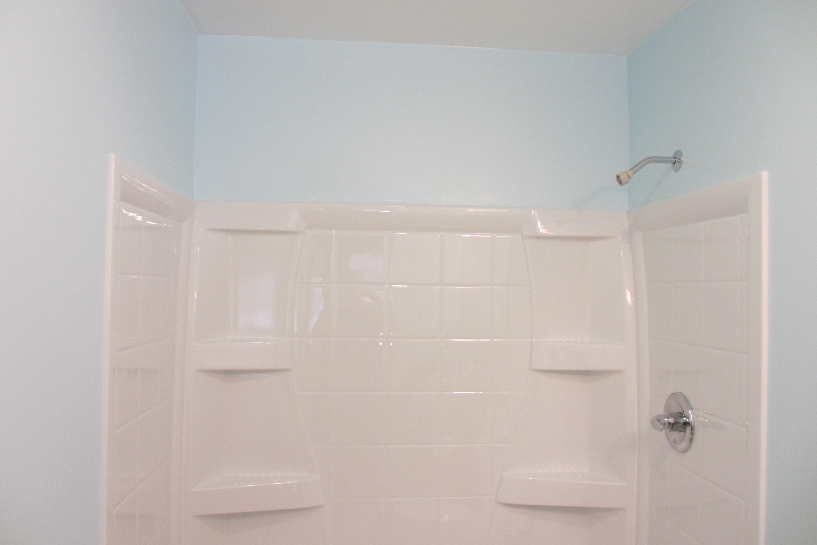 the whole bathroom got a coat of primer walls and ceiling the technique  used to install the primer is just as important as the technique used on  the top. Bathroom Ceiling Paint Primer  Bathroom Painting Tips And Ideas