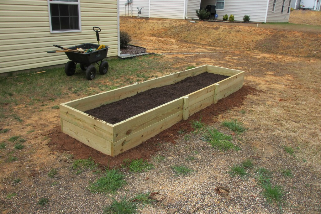 Raised Bed Garden Build N 39 Cook With Tom