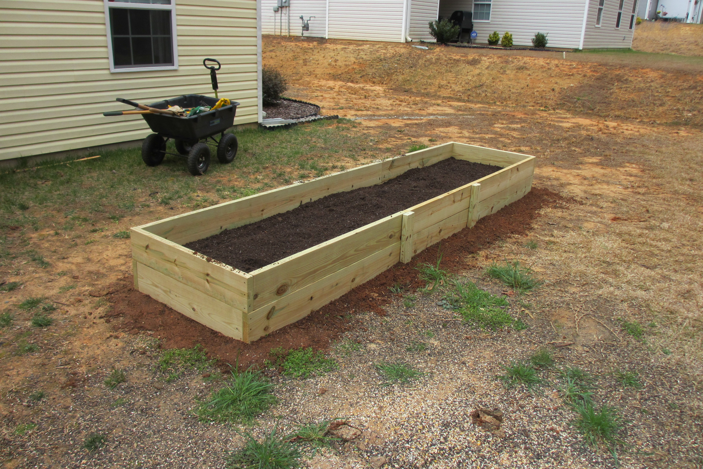 Raised Bed Garden | Build n\' Cook With Tom
