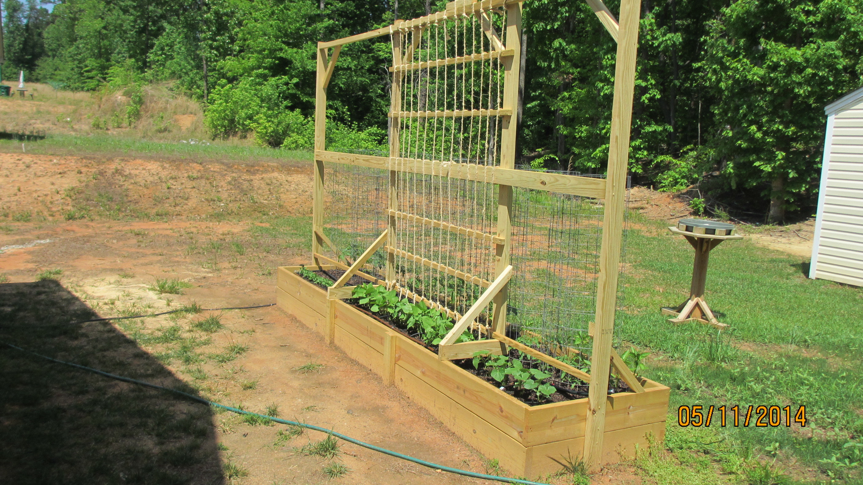Raised Bed Garden Build n Cook With Tom