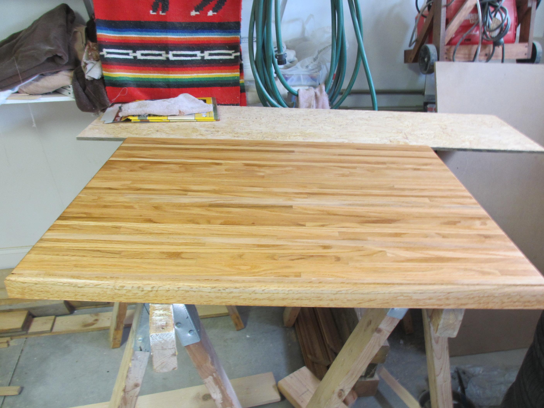kitchen island build n