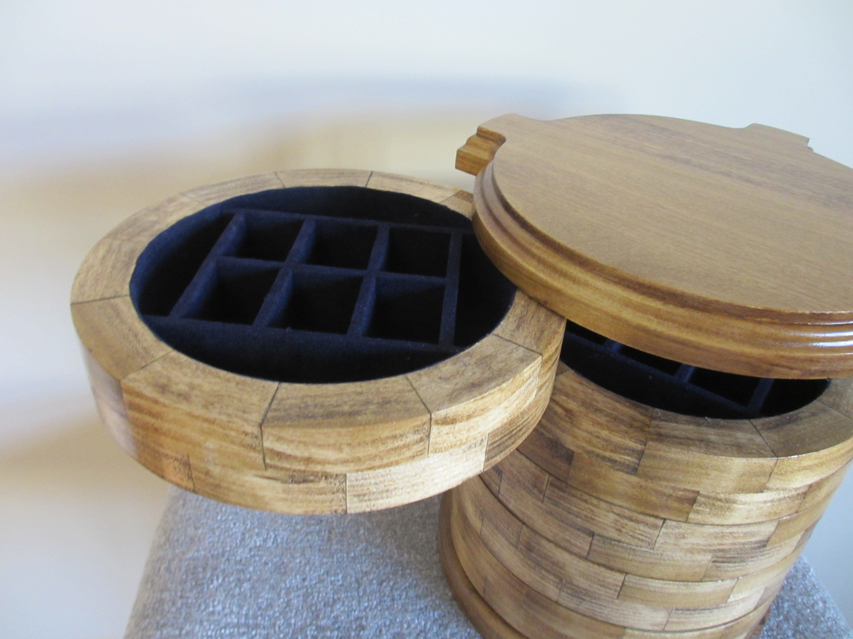 Round Jewelry Box For Future Generations To Build Upon I Already Could Make Some Improvements If Were Another One But M Content With The