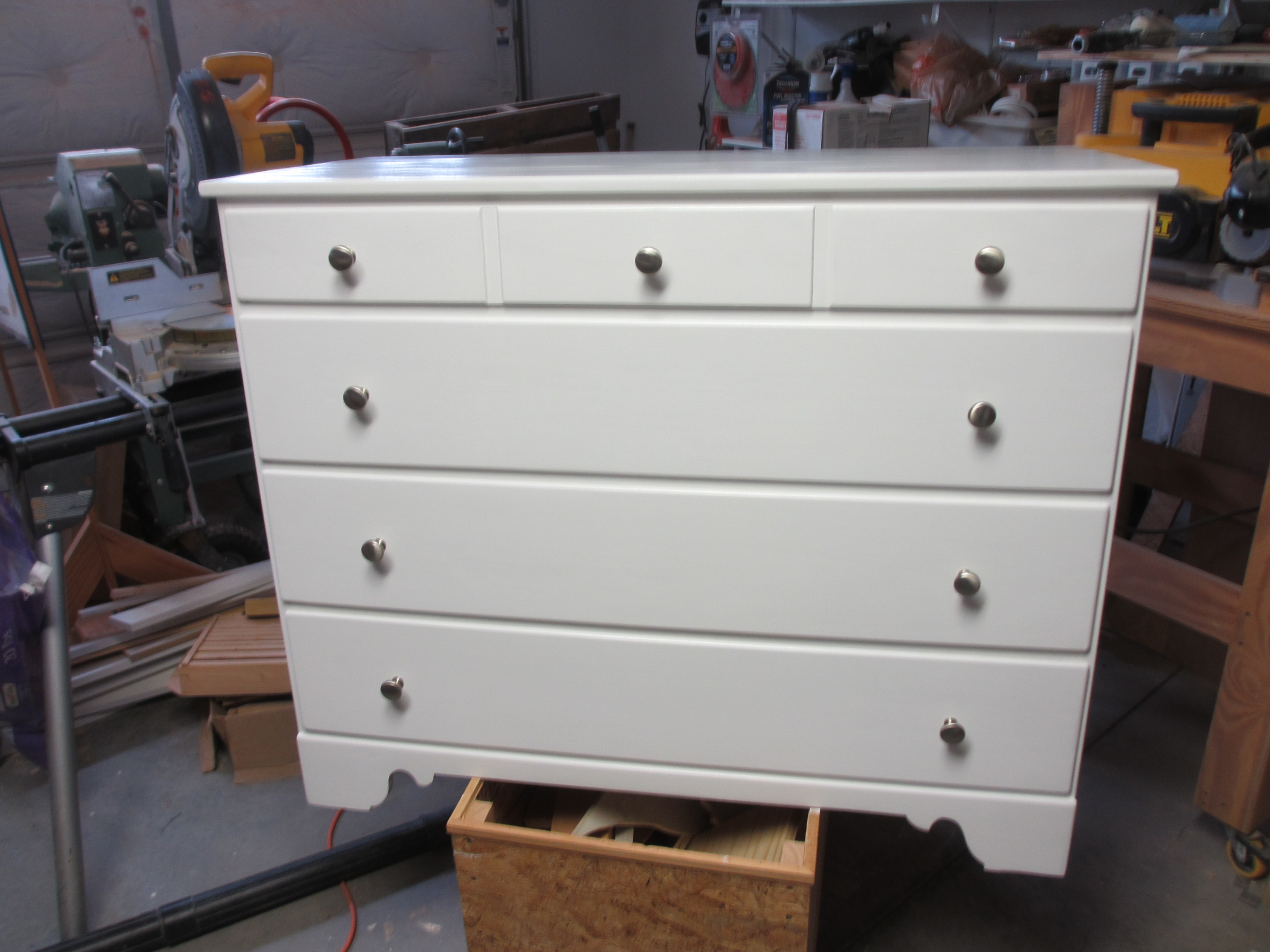 Update And Didn T Cost All That Much I Think This Dresser Was Made In The 1940 S Or 1950 Can Only Hope It Lasts Another 50 Years More Now
